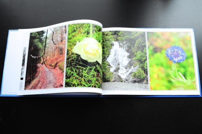 Fotoboek Fotofabriek pagina natuur